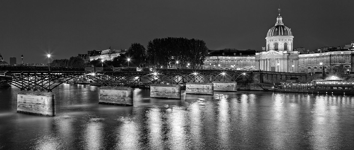 Pont des Arts 2, Paris, France. 2015