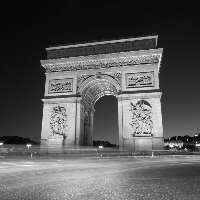 Arc de Triomphe, Paris, France. 2015